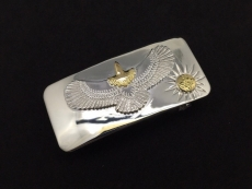 Plane buckle with Eagle S (XS)